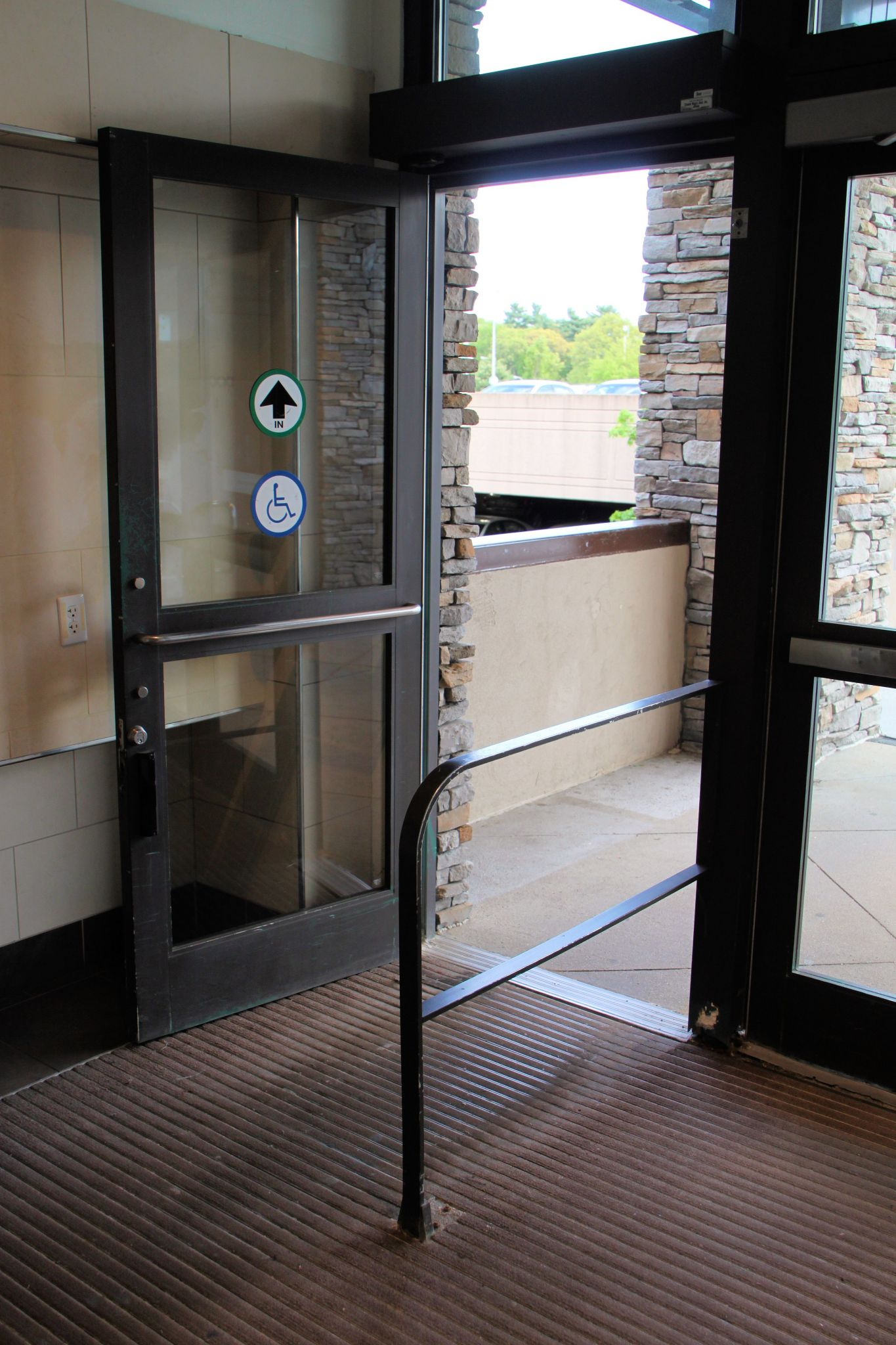 Automated Handicap Accessible Double Doors Evergreen