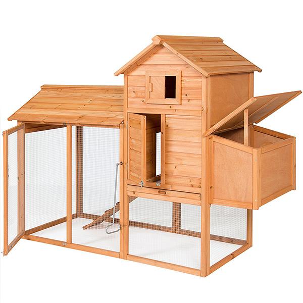 Wooden Chicken Coop box